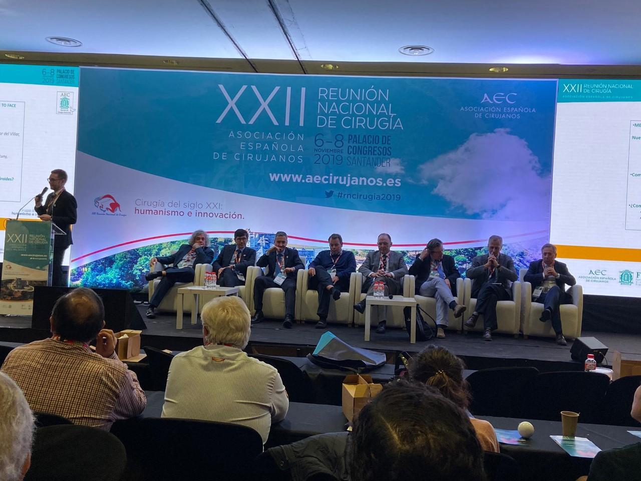 XXII Reunión Nacional de Cirugía (Santander).